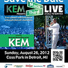 Kem's Mack and Third Live (2012) : Free concert and food drive to benefit Detroit's homeless