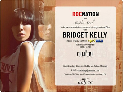 Bridget  Kelly Listening Party 11-5-13 Tuesday