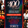 The 400 Club @ Dolce : Birthday Dinner Party For Tori T