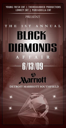 Black Diamonds Affair @ Marriot Southfield
