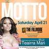 Filmore_4-21-12_Saturday : The Motto (Performance & Hosted by Teairra Mari) | Live It Up Ent., Randy Ran, Twin Ent., Reign Fall Ent. Al Bass