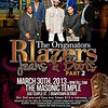 Masonic Temple 3-30-13 Saturday : The Originators Blazers Jeans and Boots Part 2 | Mike T, The Best of the 1st, Chill Mode, Rabs Gain Entertainment