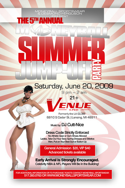 Money Ball 09 Summer Jump Off @ The Venue Live