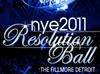 Resolution Ball 2011 @ The Fillmore Detroit : Hosted by NYEDetroit.com