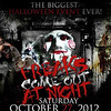 Roostertail 10-28-12 Sunday : Freaks Come Out At Night | Reign Fall, Zo, Fauna, A\W, Tiba, G Turner