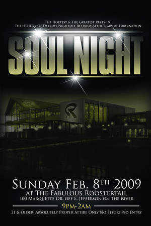 Soul Night @ The Fabulous Roostertail