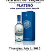 The Art of Tequila: Platino Ultra Premium Silver Tequila at the GEM Theate :