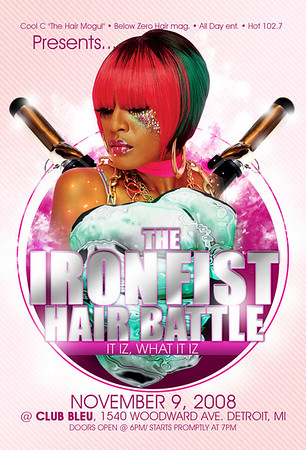 The Iron Fist Hair Battle 08 @ Bleu