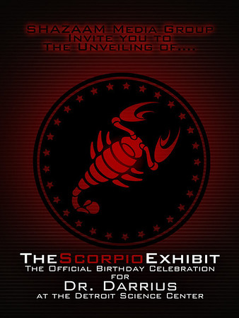 The Scorpio Exhibit @ Detroit Science Center