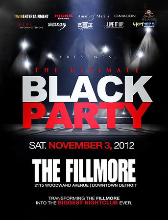 The Ultimate Black Party 2012