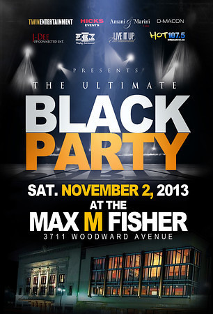 The Ultimate Black Party 2013 at Max M. Fisher