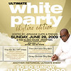 Ultimate White Party 09 | Skyline Edition : 6-28-09_Sunday
