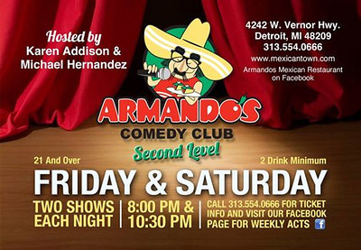 Armando's Comedy Club 5-23-14 Friday