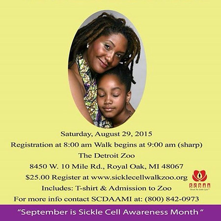 Sickle Cell Awareness Month 8-29-15 Saturday